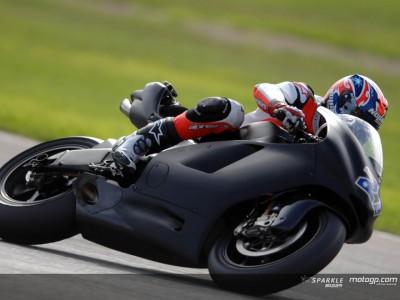 Stoner à l'aise avec la Ducati