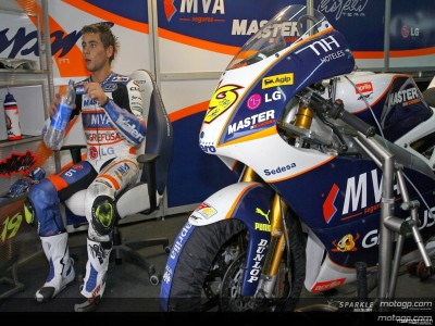 Bautista trying to 'un-learn' 125cc style