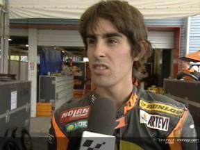 Julián Simón correrá en el equipo Repsol Honda de 250cc