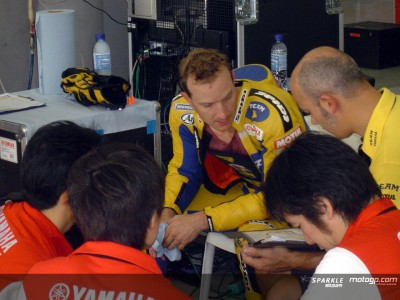 Edwards happy with 800cc progress in the dry at Sepang