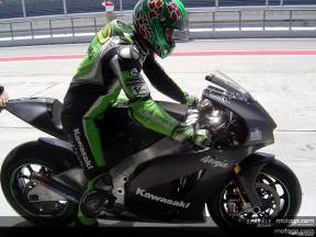 Jacque upbeat despite limited 800cc contact