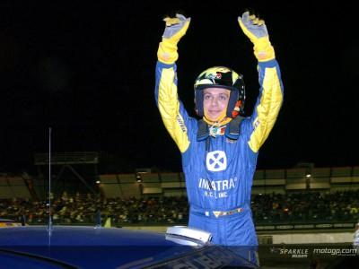 Valentino Rossi al Monza Rallye Show