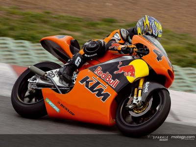 KTM and Aprilia complete testing in Spain