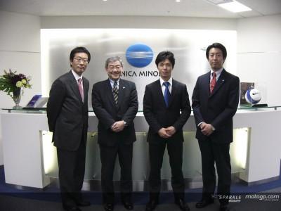 Nakano empieza su andadura con Konica Minolta Honda