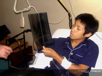 Yuki Takahashi, riabilitazione all´ossigeno