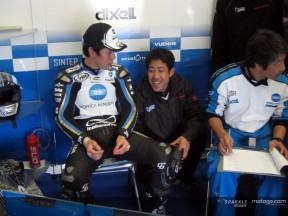 La lluvia altera la primera jornada de test en Jerez