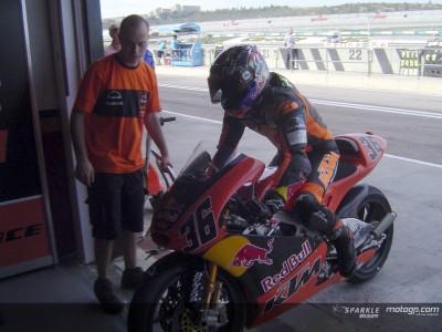 Kallio muestra una gran adaptación a la categoría de 250cc