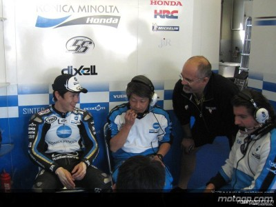 Nakano gets to grips with Honda-Michelin package