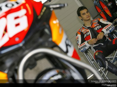Pedrosa brilla en los test de post-temporada