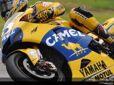 Camel e Yamaha Factory Racing prendono strade diverse