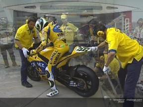 V.ロッシ、タイヤトラブル