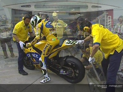 China: Tyre problems for Rossi
