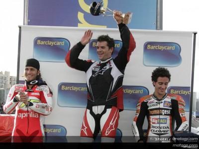 Checa gewinnt beim Supermotard in Bolonia