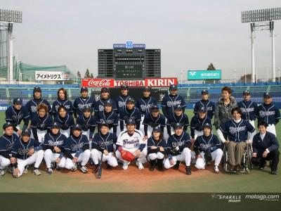 草野球チーム『レーサーズ』が初勝利