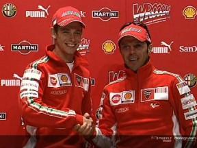 Presentazione del team Ducati 2007