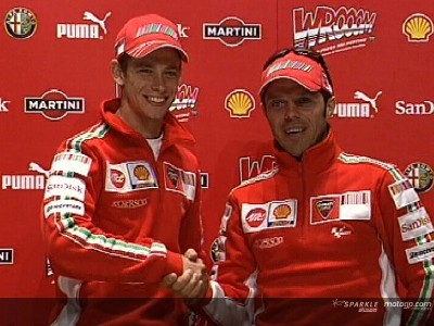 Minoli and Stoner kick off Ducati Presentation