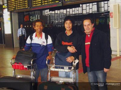 Il thailandese Wilairot è arrivato in Spagna