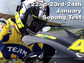 Sepang welcomes first MotoGP test of 2007