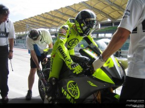 Rossi notices tiredness after inactivity