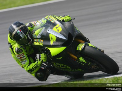 Rossi back on top on final day at Sepang