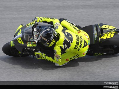 Rossi happy nach Rennsimulation