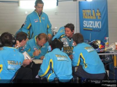 Declaraciones de los pilotos tras el primer test de 2007