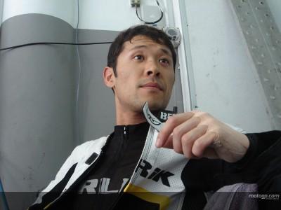 玉田誠、意欲的にタイヤテストこなす