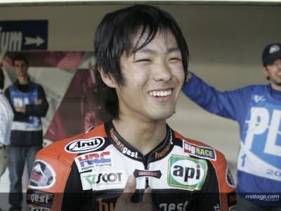 Yuki Takahashi espera ansioso el test de Barcelona