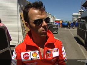 Ducati Marlboro, conclusioni positive dai test di Phillip Island
