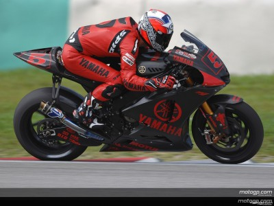 Edwards opens Sepang Test by topping the timesheets