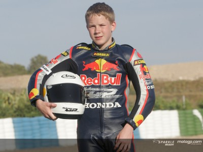 Danny Webb pronto al debutto in 125