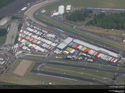 Donington Park changes hands