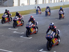 Red Bull Rookies Cup youngsters test in Spain