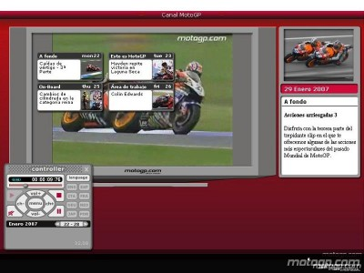 MotoGP Channel back to full speed in 2007
