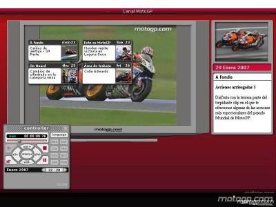 MotoGP Channel fait peau neuve pour 2007