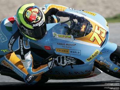 Test Jerez 125: Pasini confirma su buena forma en la primera jornada