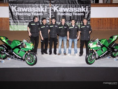 Kawasaki present 2007 project with added horsepower