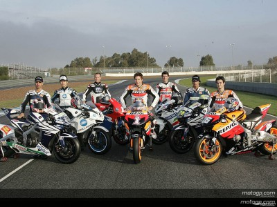 Honda family demonstrate togetherness