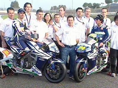 Gresini prêt à affronter 2007 avec Honda et Bridgestone