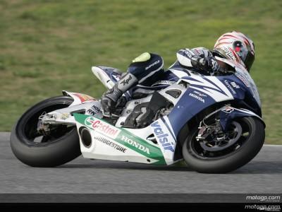 [Jerez J1] Melandri le plus rapide