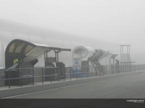La niebla vuelve a cubrir el circuito de Jerez