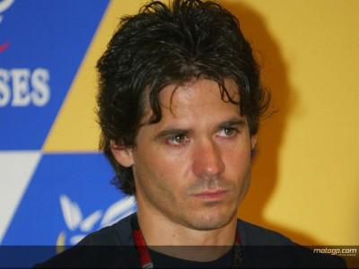 Álex Crivillé en el equipo de comentaristas de TVE