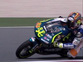 Talmácsi toma el mando en el test de 125cc en Qatar