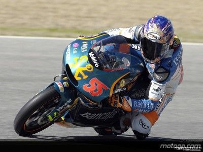 Faubel leads the way in second 125cc free practice