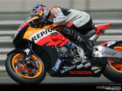 Pedrosa fastest in MotoGP warmup amidst crash and controversy