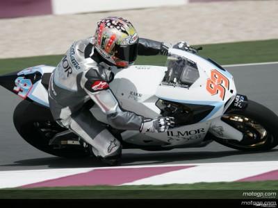 McWilliams rues Qatar race absence