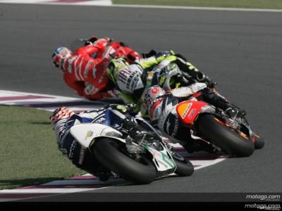 Desmosedici GP7 mit Top-Geschwindigkeit in Katar