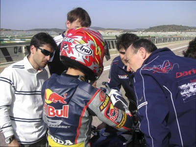 Testing times for Red Bull MotoGP Academy alumni