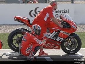 Ducati Marlboro llega a España con la moral por las nubes
