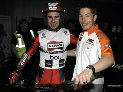 Hayden e Pedrosa alla finale del Mondiale di Trial Indoor